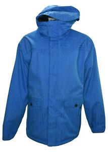 686 Mannual infiDRY Mens Large Breathable Waterproof Ski Snowboard Jacket Blue