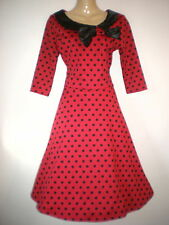 Unbranded Polyester Midi Spotted Dresses for Women