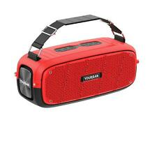 YOURBAN GETONE 60 RED - Enceinte Nomade Bluetooth Compacte - Couleur Rouge