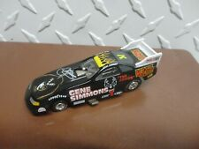 Loose Johnny Lightning Black KISS Gene Simmons Dragster w/Real Riders
