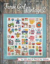 Farm Girl Vintage 2 Quilt Book by Lori Holt of Bee in My Bonnet