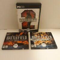 3 PC Games Battlefield 2 Battlefield Vietnam Battlefield 1942 Teen