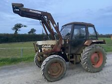 More details for case david brown 1394 4wd tractor & quicke loader