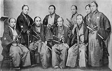 Japanese Samurai Warriors Count Okuma Nagasaki 7x5 Inch Swords Japan