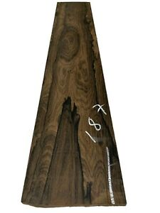 "Ziricote Guitar Bass Fingerboard Blanks/Fretboards/Lumber 33""x6""x1/2"", #187"