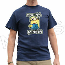 One In a Minion Despicable Me Dave Funny Men Ladies T-Shirts Vest S-XXL Size