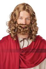 California Costumes Jesus Wig & Beard Adult Biblical Christmas Holiday Costume