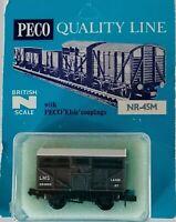 Peco - N Gauge - NR-45M - Cattle Wagon - LMS - Grey