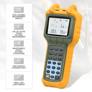 RY S110 CATV Cable TV Handle Signal Level Meter DB Best Tester USA Ship