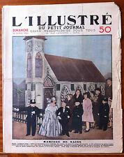 """L'illustré du petit Journal 15/04/1934; Mariage de nains à """"Lilliput City"""""""