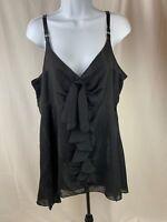 Lane Bryant Dress Size 18 Black NWT Short