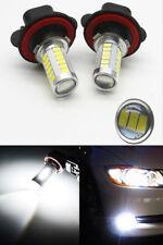 2X High Lumen Power LED White H11-55W LED Fog Light Kit Driving Lamp Bulb DRL
