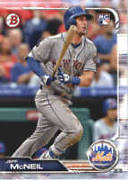 2019 Bowman Baseball #90 Jeff McNeil RC New York Mets