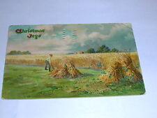 Christmas Jogs Sent To Manor Saskatchewan Postcard 1908