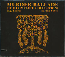 Mick Harris, Martyn Bates - Murder Ballads (3 CD) (CUTOUT) **BRAND NEW/SEALED**
