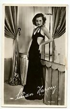 Lilian Harvey actrice chanteuse carte postale cpa photo ancienne Fox ed. Chantal