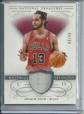 JOAKIM NOAH JERSEY CARD #/99 2013-14 NATIONAL TREASURES