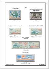 -Album de timbres TAAF jusqu'à 2017 à imprimer