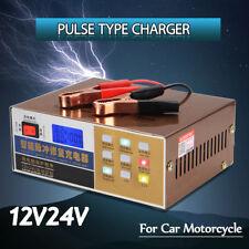 12V/24V 110/220V électrique 100AH Auto Voiture Chargeur De Batterie Smart Pulse Réparation