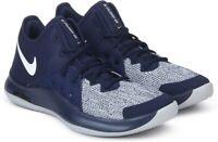 Nike Air Versitile III Basketball Shoe AO4430-400 Navy/White-Wolf Grey Size 11.5