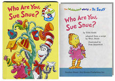 Dr. Seuss ''Who Are You, Sue Snue?'' 1st Edition