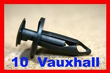 10 Vauxhall engine under cover shield tray fasteners clip