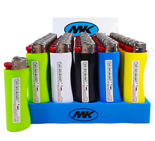 50 Full Size Mk Grip Lighters, All Purpose, Fast Ship