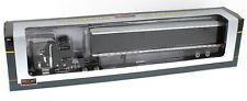 1:64 SpecCast *Black* Peterbilt Model 379 Semi w/53' Dry Goods Trailer *Nib*