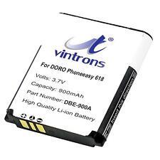 900mAh DBE-900A, Battery for DORO Phoneeasy 618, (900mAh)
