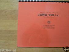 J0018 JAWA---OPERATION AND CARE OF JAWA 250cc----MODEL