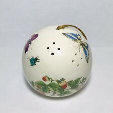Butterfly Pomander Potpourri Ball Ornament Ceramic Decoration Made In Japan