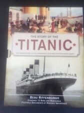 RARE Book in Sleeve + 12 Documents The Story of the Titanic by Beau Riffenburgh