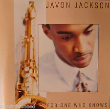 Javon Jackson - For One Who Knows (CD, 1995, Blue Note (Label)) Near MINT 10/10