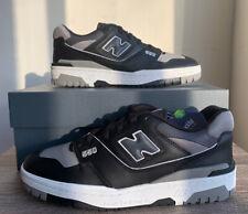 New Balance 550 Black Grey Shadow