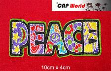 Peace PATCH Aufbügler Aufnäher Abzeichen Bügelbild Patch Frieden Cap