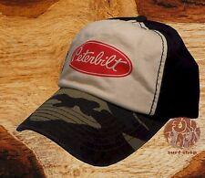 New Peterbilt Trucking Vintage Camo Mens Cap Hat