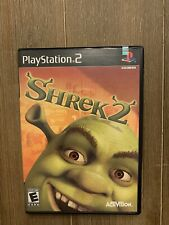 Shrek 2 (Sony PlayStation 2, 2004) Ps2 Black Label - Complete w/ Manual
