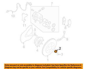 NISSAN OEM-Axle Nut 402622Y00A