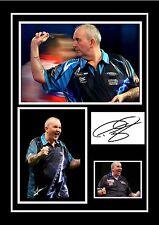 Phil Taylor Darts Signed Autograph PRINT 6x4/' 10x15cm