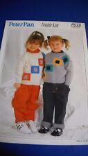 Peter Pan Child's Sweater Knitting Pattern 633