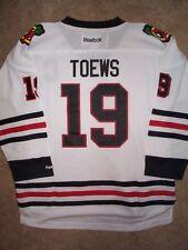 ($70) REEBOK Chicago Blackhawks JONATHAN TOEWS nhl Jersey YOUTH KIDS BOYS (xl)