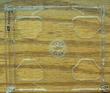 50 DOUBLE CD SMART TRAYS WITH 2 DISCS PRINTS,CLEAR- YL29LOGO