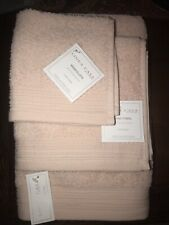 Sferra Linea Casa Light Pink 10 Pc Bath Towel Set (Bath, Hand, Wash) Cotton Nwt