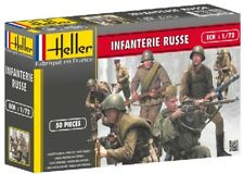 Heller WWII Russian Army Infantry Plastic Toy Soldiers 1/72 Scale AIRFIX TYPE