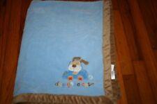 HTF Small wonders boys puppy car dog gone cute baby blanket