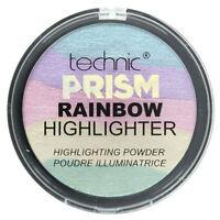Technic Prism Rainbow Highlighter Baked Highlighting Shimmer Face Powder