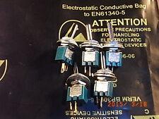Miniature bascule miniature toggle switch ms-240.243 un de on off, 5pcs