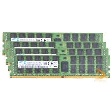 Samsung 4x 32GB 2Rx4 DDR4 PC4-2133P DIMM ECC Reg-Memory Server Memory RAM 288Pin