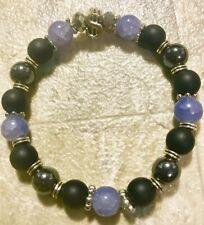 Chakra Balance Natural Stone Money $$ Bracelet