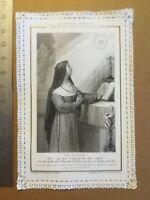 Canivet dentelle Holy Card image pieuse - La confiance religieuse - Ch Letaille